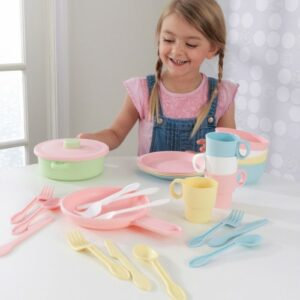 Kitchen Set 27 Pieces - Pastel