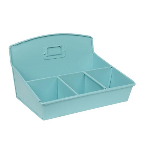 Desk Top Organiser - Aqua