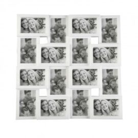 Family Photoframe 16 appertures white kids children home decor accessories memories album