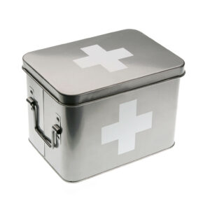 First Aid Metal Box
