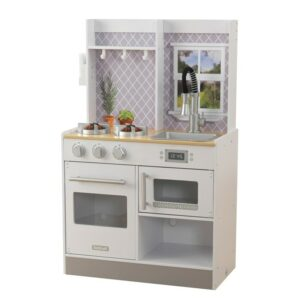 Let's Cook Wooden Kitchen