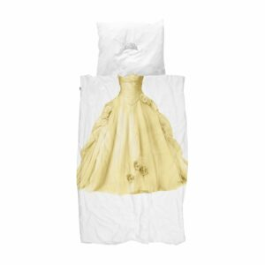 Princess Duvet Set - Yellow (Single)