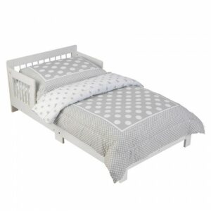 Simple Toddler Bed - White
