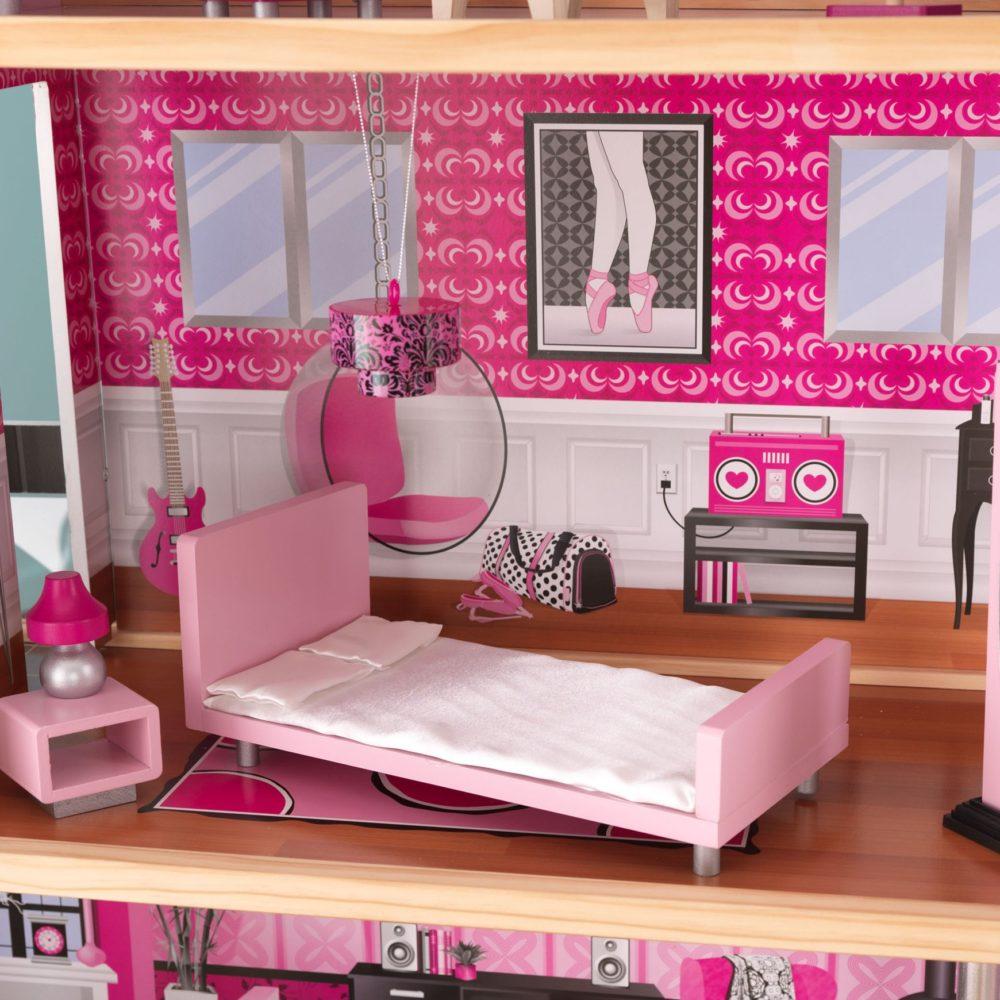mansion bedrooms for girls. Sparkle Mansion Dolls House With Furniture Bedrooms For Girls