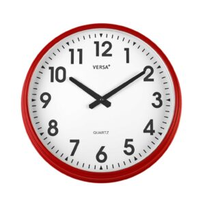 Wall Clock - Red
