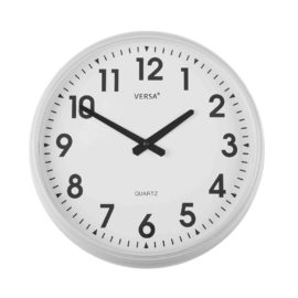 Wall Clock White 37cm Kids Children Bedroom Playroom Decor Accessories