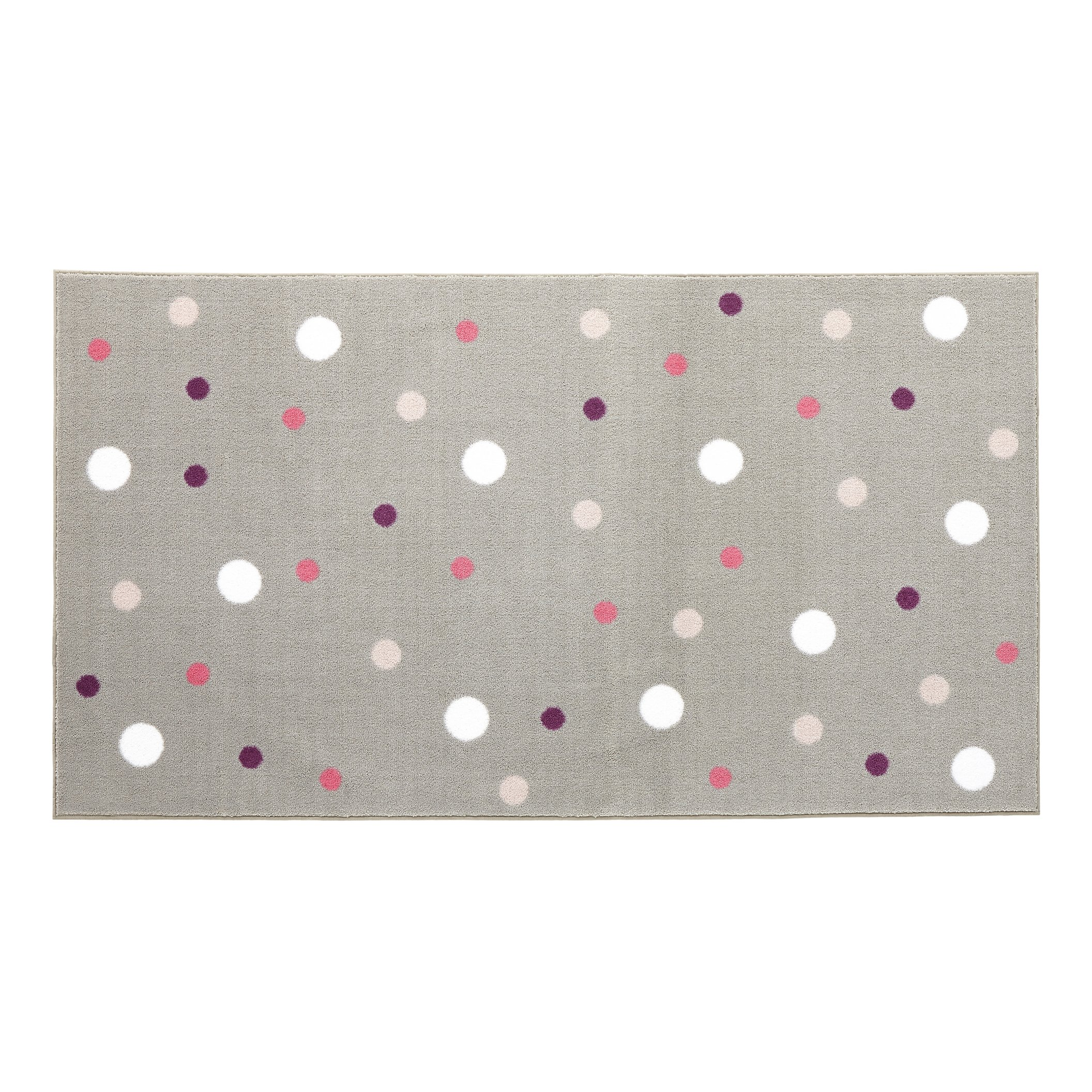 Multi Dot Rug - Pink by Lifetime Kidsrooms