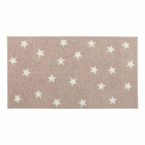 Galaxy Star Rug - Soft Pink by Lifetime Kidsrooms