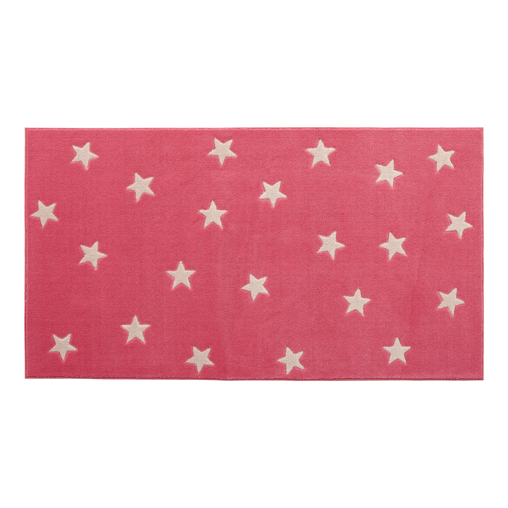 Galaxy Star Rug - Pink by Lifetime Kidsrooms