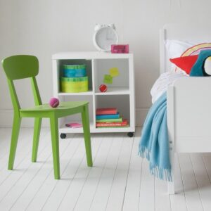 Storage Bookcase on Castors - White by Little Folks