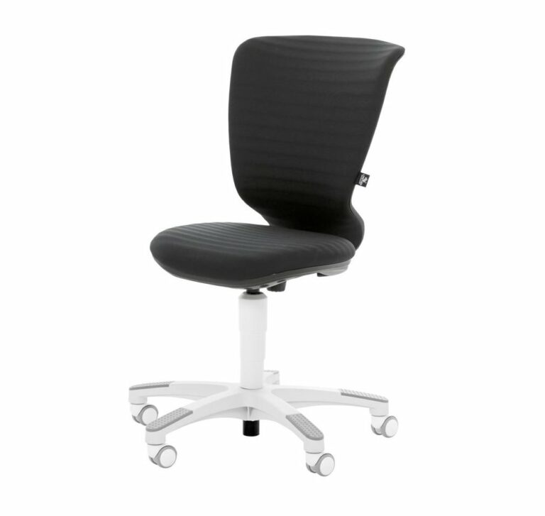 Wave Desk Chair- Black by Lifetime Kidsrooms