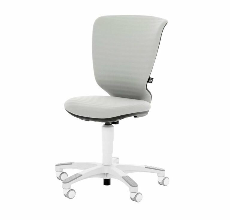 Wave Desk Chair- Grey by Lifetime Kidsrooms