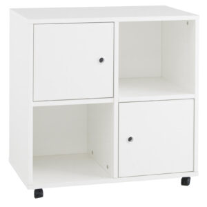Simple Quadrant Storage Unit - White by Little Folks