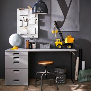 Chase Desk - Grey