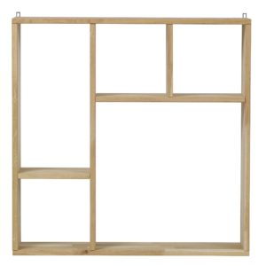 Kris Collectors Cabinet - Solid Oak