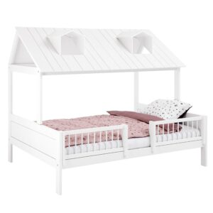 Beach House on Double Bed, Solid Wood - White by Lifetime Kidsrooms