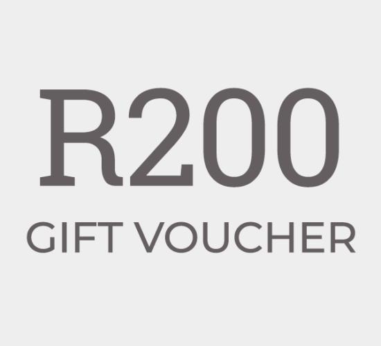 R200 Gift Voucher