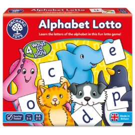 Alphabet Lotto Game Orchard Toys Kids Children Fun Learning Toy Education