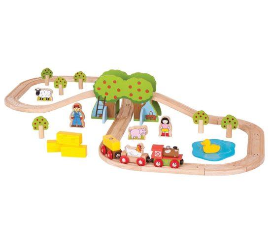 Farm Rail Train Set