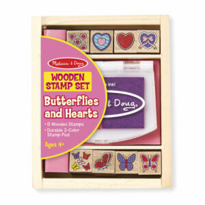 Butterflies & Hearts Stamp Set