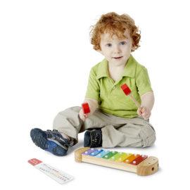 Caterpillar Xylophone Wooden Toys Music Fun Learning Kids Children Melissa & Doug