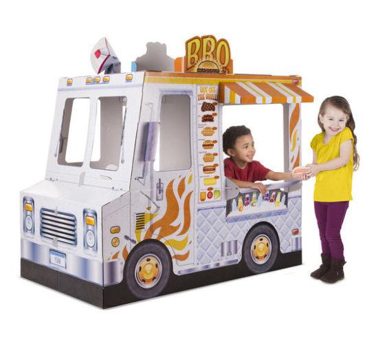 Cardboard Structure - Food Truck