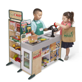 Fresh Mart Grocery Store for Kids Children Pretend Play Wooden Toys Fun Shopping Imagination