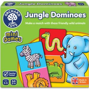 Jungle Dominoes Game