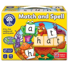 Match and Spell Game Orchard Toys Kids Children Fun Learning Toys