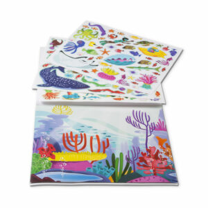Under The Sea Reusable Sticker Pad