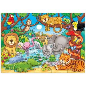 Who's In The Jungle Puzzle