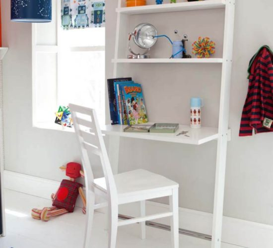 Carlton Desk Shelf - White