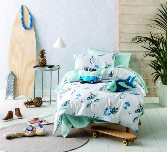 Gone Surfing Duvet Set (Single)