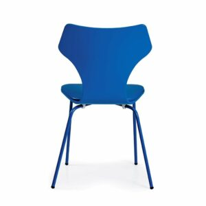 Lolly Chair with Padded Seat - Royal Blue