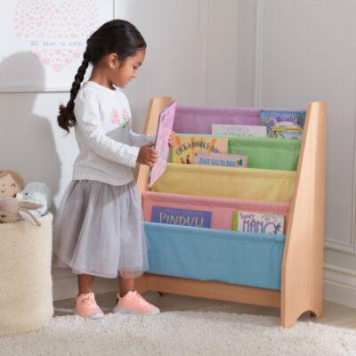 Sling Bookcase - Pastel by Kidkraft