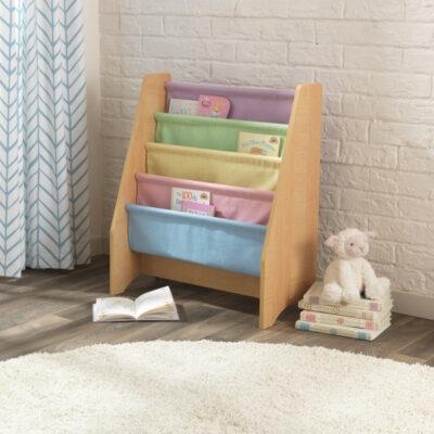 Sling Bookcase - Pastel