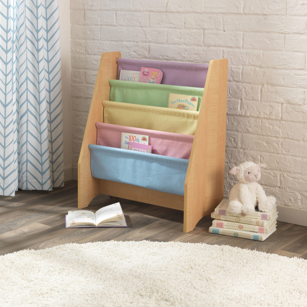 Sling Bookcase - Pastel