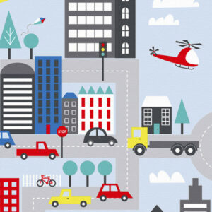 City Streets Duvet Set (Single)