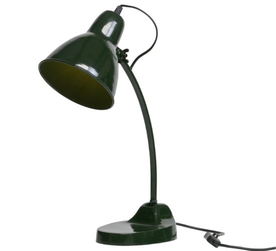 Metal Masterpiece Lamp - Forest Green