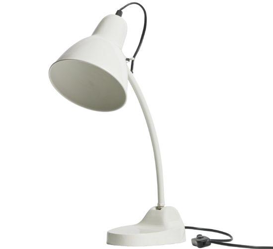 Metal Masterpiece Lamp - White