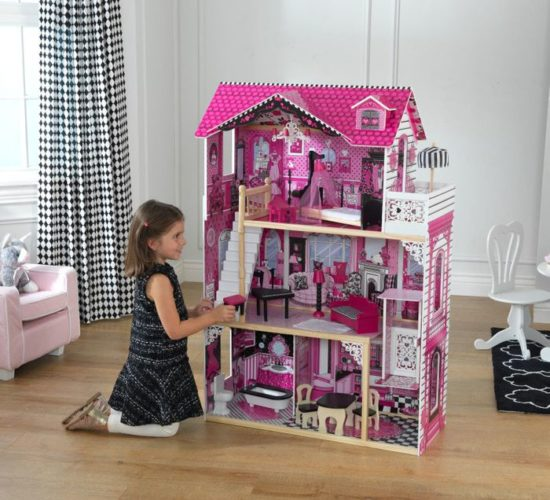 Amelia Dolls House with Furniture