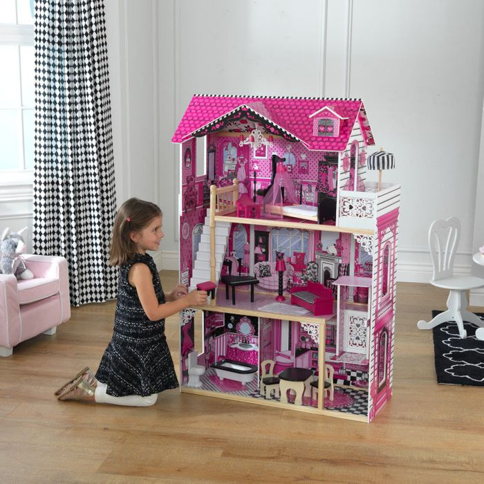 Amelia Dolls House with Furniture by KidKraft