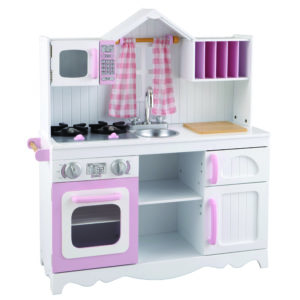 Modern Country Wooden Play Kitchen