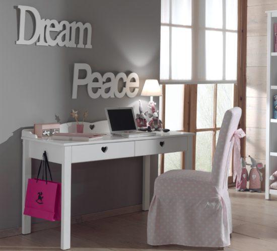 Amori Desk - White