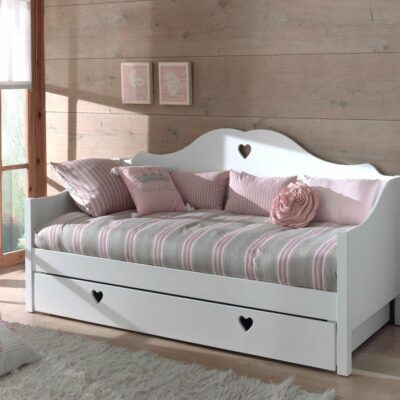 Amori Day Bed - White