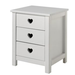 Amori Nightstand - White