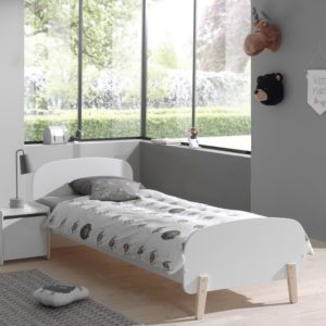 Hallie Single Bed - White