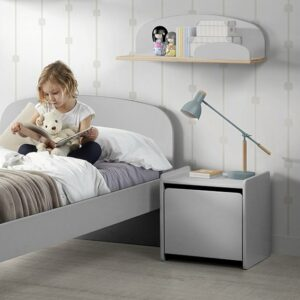 Hallie Nightstand - White