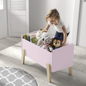 Hallie Toy Box - Dusty Pink