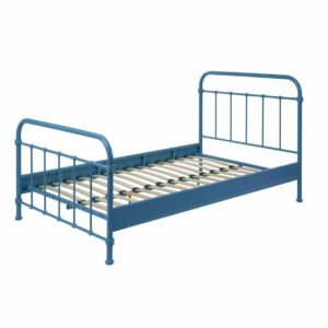 Oxford Metal Bed incl Slats - Blue (3/4)